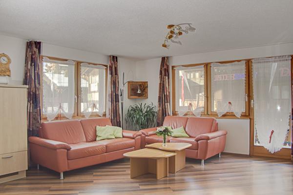 Ferienwohnung Schönegg Wohnraum