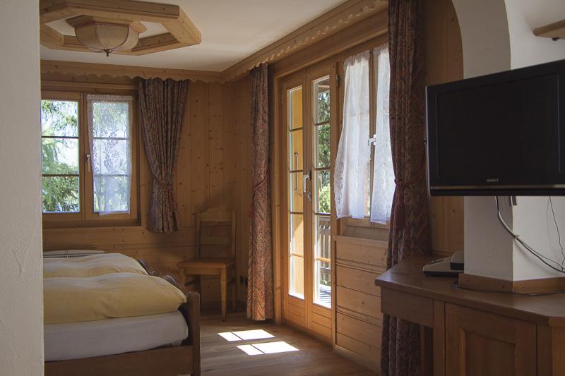 Waldhaus Bettmeralp Zimmer Romantica