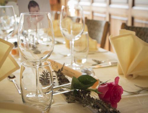 Tisch Taufe