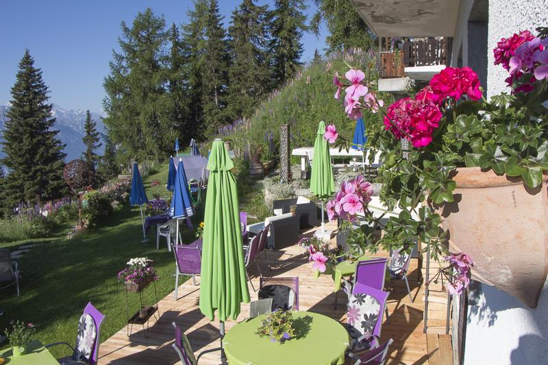 Sonnenterrasse Hotel Waldhaus Bettmeralp